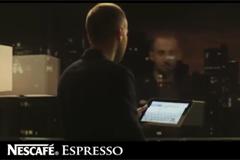 Новый ролик кофе Nescafé Espresso