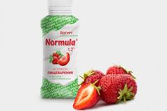 """Дизайн упаковки питьевого йогурта """"Normula"""""""