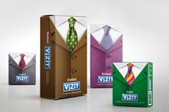 "Дизайн упаковки для линейки презервативов ""Vizit"""