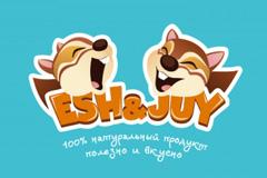 """Бренд """"ESH&JUY""""  фруктово-ореховых смесей"""