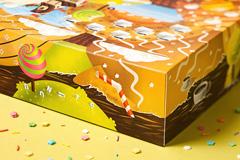 """Промо-упаковка пончиков на вынос для кафе """"Donut's Club"""""""
