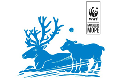 """Знак для слогана WWF """"Арктика - мой дом"""""""