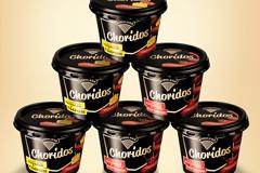 """Сыровяленые снеки """"Choridos"""" в упаковке дизайна BQB"""