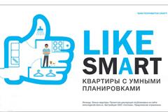 Рекламная кампания по продвижению жилья в формате Smart
