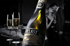 Ребрендинг шампанского Delasy