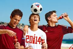 Coca-Cola запускает рекламные ролики в поддержку сборной России по футболу
