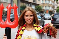 Убитая газель лишила бельгийскую болельщицу контракта с L`Oreal