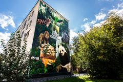Телеканал Viasat раскрасил Екатеринбург