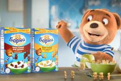 Завтрак от мишки Барни