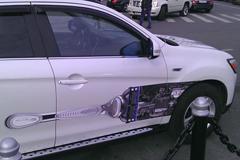 Gillette побрил машины
