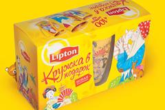 Lipton едет дальше