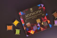 """""""Верность Качеству"""" и Depot WPF представили коллекцию шоколадных вкусов """"Априори"""""""