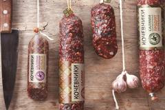 """В BrandLab разработали новый бренд мясных деликатесов и колбас """"Кочевники"""""""