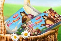 """Сладости """"Маша и Медведь"""" оделись в натуральную упаковку"""