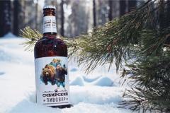 Дизайн этикетки для крафтового пива от Томского пивоваренного завода