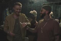 Тимати и Егор Крид рука об руку в рекламе Galaxy A