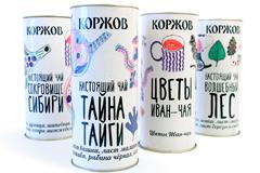Дизайн упаковки для русского чая