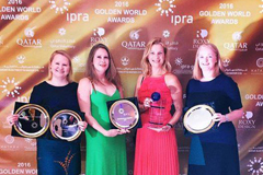 FleishmanHillard Vanguard получил две награды IPRA Golden World Awards