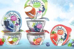 Дизайн упаковки йогуртов Bonfrais