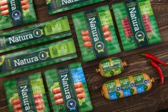 Дизайн упаковки ТМ Natura