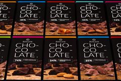 Дизайн упаковки CHOCOLATE для BonGenie