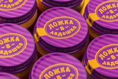 """Fabula Branding: новая марка детского питания """"Ложка в ладошке"""""""