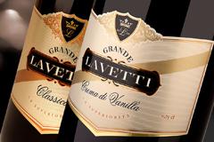 """Madison TMB разработали название и дизайн этикетки для игристого вина """"Lavetti"""""""