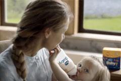 Valio в России представляет первую ТВ-рекламу молочной смеси Valio Baby