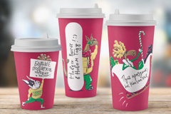 Забавные персонажи PRIME примерили новогодние образы