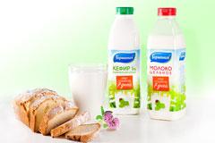 """Редизайн упаковки молочной продукции бренда """"Гармония"""""""