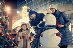 Добрые дела и новогоднее настроение: новая рекламная кампания МЕГИ