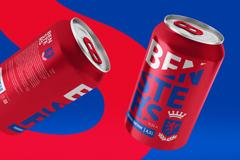 Команда DDC.Lab разработала лаконичный дизайн пива в английском стиле