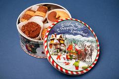 """Дизайн упаковки новогоднего набора печенья для """"Брянконфи"""""""
