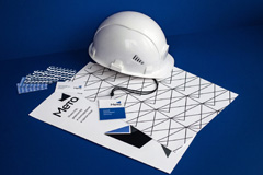 """Разработка логотипа и фирменного стиля девелоперской компании """"МЕТА"""""""