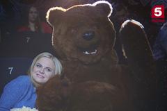 На Пятом появился медведь!