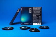 Дизайн упаковки премиальных презервативов Indigo Lux