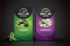 Редизайн чая необыЧАЙный от Ural Branding Company