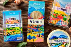 Дизайн упаковки кавказских сыров