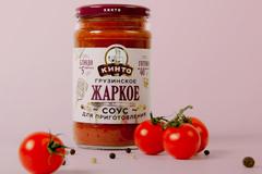 """Дизайн этикетки соусов для приготовления """"Кинто"""""""
