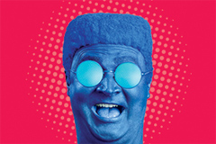 Голова-мигалка в новой рекламной кампании av.by