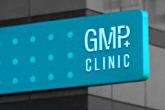 FOLX нарисовал фирменный фасад GMP Clinic