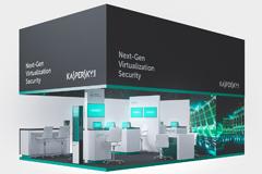 Kaspersky Lab – разработка системы выставочных пространств