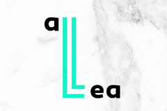 Воздушная айдентика для компании Allea от агентства Otlichnosti