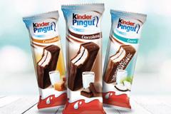 Новая упаковка для охлажденных бисквитных пирожных Kinder от итальянского агентства BREAK DESIGN