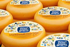 """Variobrands представили новый бренд полутвердых сыров """"Бон-дари"""""""