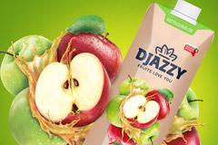 Дизайн упаковки для нового сока Djazzi