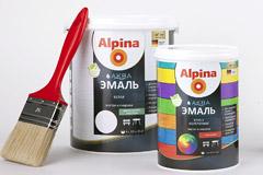 Дизайн упаковок новой линейки лакокрасочной продукции Alpina