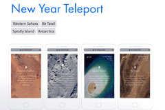 NEW YEAR TELEPORT от Publicis Communications Russiа