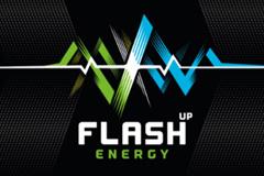 Энергетик FLASH UP полностью обновил весь визуальный стиль