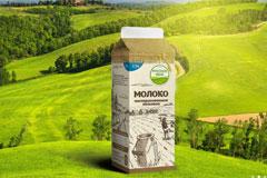 kruchenas.net обновило дизайн всей линейки молочной продукции КФХ Русское Поле